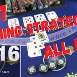 WINNING STRATEGY!?  777 Blackjack Challenge