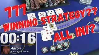 WINNING STRATEGY!?  777 Blackjack Challenge