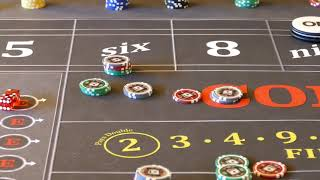Good craps strategy?  The 6 and 8 triple hit.