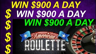 WORLDS GREATEST ROULETTE STRATEGY EVER WIN $900 A DAY