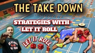 THE TAKE DOWN- $15 Table – Great strategy for beginners.  Easy strategy to play.  High risk strategy