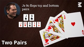 Poker Strategy: Flopping Top and Bottom as the Preflop Raiser