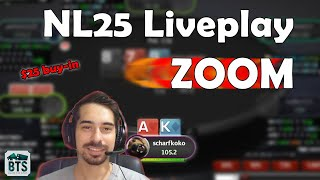 How to CRUSH $25NL Zoom Poker (Play&Explain)
