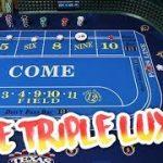 BIG RISK BIG WIN Craps Strategy – Live Craps Triple Lux Pressing #1