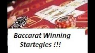 "Baccarat Winning Strategy "" LIVE PLAY "" By Gambling Chi 12/18/20"