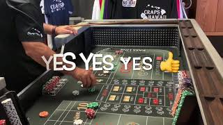 Craps Hawaii — Having a Talk With Them Black Dice….Having Fun