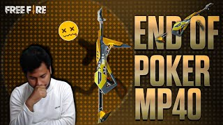 FREE FIRE | POKER MP40 THE END GAME| RANK PRO TIPS AND TRICKS KILL FREE FIRE