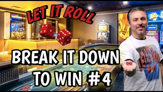 HOW TO PLAY GOING DOWNTOWN CRAPS STRATEGY AND WIN!!! – BREAK IT DOWN TO WIN Ep. #4