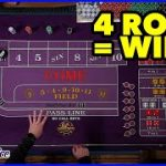 Win at Craps in 4 rolls or Less