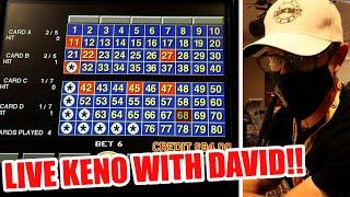 KENO IS BACK!!! David Live Keno Play At Strat Hotel