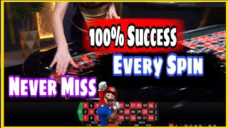 Roulette Trick to How Bring Success Every Spin | roulette strategy to win | roulette pro