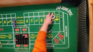 Craps strategy,  subscriber submitted.  Critic strategy.