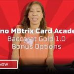How To Play Bonus Options In Baccarat – Casino M8trix Card Academy – Lesson 2