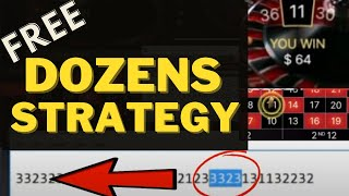 Roulette Strategy For Dozen & Columns Permutations | Secret Strategy to Win Roulette every Spin