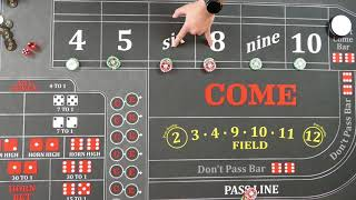 Good craps strategy?  Viewer submitted strategy, this is a strong one!