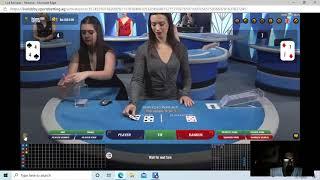 "Baccarat Winning Strategy "" LIVE PLAY "" By Gambling Chi"