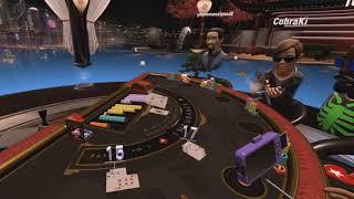 VR BLACKJACK (POKERSTARS VR)