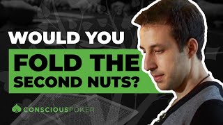 Call or Fold: Would You Fold the Second Nuts?