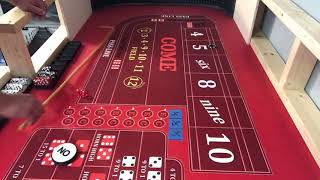 Laying the 5 or the 9 craps strategy