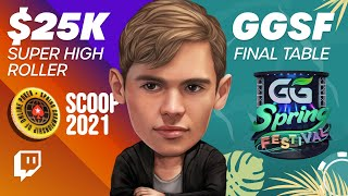 $25,500 Super High Roller &  GGSF Final Table! – Fedor Holz Twitch Highlights