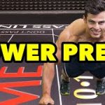 How do you Power Press in Craps?