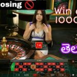 Dozen strategy roulette || win daily in roulette || simple strategy in Telugu