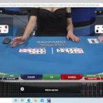 "Baccarat Winning Strategy : LIVE PLAY "" 10/23/202 By Gambling Chi"