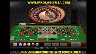 ROULETTE STRATEGY MUST WATCH TO END- 99% GUARANTEED ROULETTE WIN STRATEGY-BEST PROGRESSION