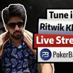 Streaming PLO 5( Cash + Tourney) | Ritwik Khanna