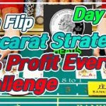 Baccarat CoinFlip Strategy | 10% Profit Everyday Challenge – Day 1 & 2