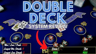 Betting Systems on Double Deck BlackJack!  Is it better??