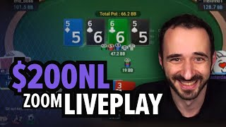 $200 No-Limit Poker – More Low-Stakes Liveplay