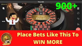 Best Roulette Strategy Online   Roulette WIN EVERY TIME