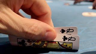 LOVELY LADY LUCK! // Texas Holdem Poker Vlog 35