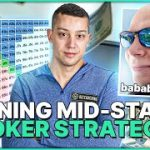 Winning Mid-Stakes Poker Strategy | Hand Review w/ bababooey75