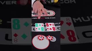 Blackjack Strategy Shorts. Splitting 8's NeverSplit10s #shorts