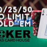 $10/25/50 No-Limit Hold'em | TCHLiVE! Dallas 6/1/2021