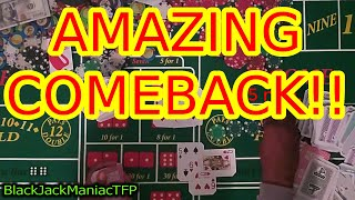 BLACKJACK: AMAZING COME BACK  ( Black Jack Strategies!)
