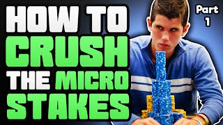 How To CRUSH the MICRO STAKES With Alex Fitzgerald – Part 1