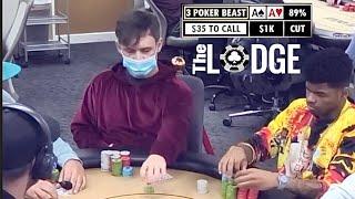 IN $1500 FOR MY FIRST EVER LIVESTREAM GAME!!! // Texas Holdem Poker Vlog 41