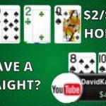 I Didn't Know I Had A Straight | Poker Vlog #194