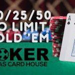$10/25/50 No-Limit Hold'em TCHLiVE! Poker Stream   Dallas 6/9/2021