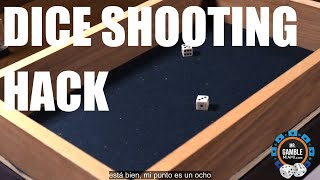Dice Shooting Hack on Craps Table Cheating Mechanism