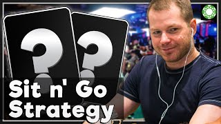 Sit N' Go Hand History Review (SNG Strategy) – A Little Coffee with Jonathan Little