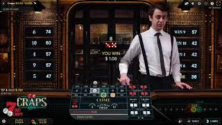 How TO Win Online CRAPS  nothing but 8 strategy