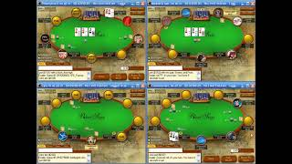 4 Tabling Low Stakes Poker Strategy ($5 NL Full Ring)