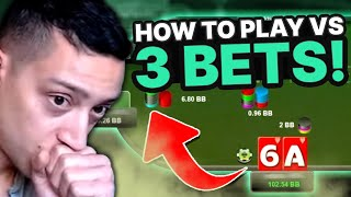 LEARN HOW TO PLAY vs. 3-BETS | Study Stream with Jordan & BBZ Student