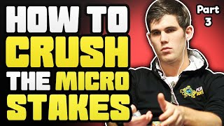 How To CRUSH the MICRO STAKES With Alex Fitzgerald – Part 3