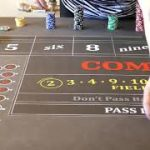Good craps strategy?  Direct lay to inside bet.