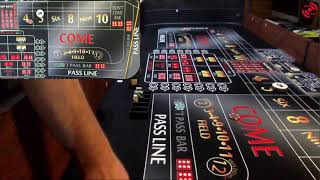 Craps strategy – The 3 Point Volley (Attempt 2 of 3)